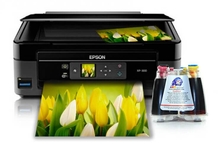 фото МФУ Epson Expression Home XP-300 с СНПЧ