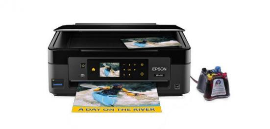 фото МФУ Epson Expression Home XP-410 с СНПЧ