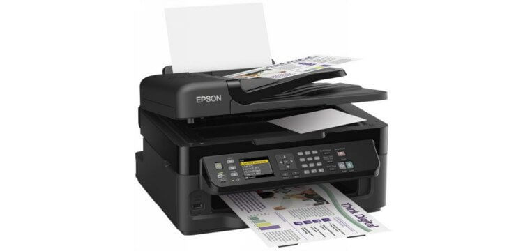 Epson WF-2540WF Refurbished с СНПЧ
