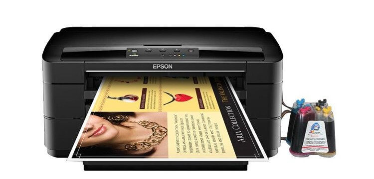 фото Принтер Epson WorkForce WF-7010 Refurbished с СНПЧ