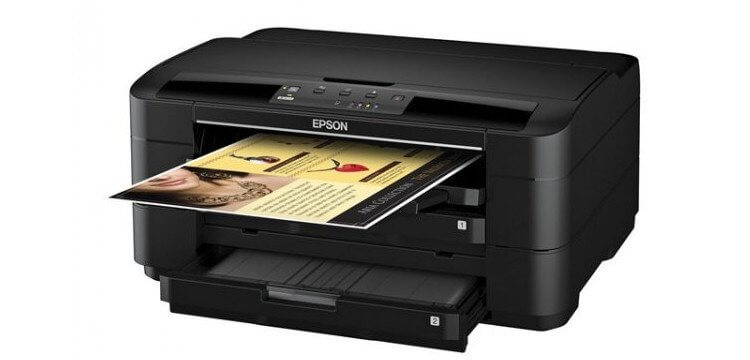 Epson WF-7010 Refurbished с СНПЧ 2