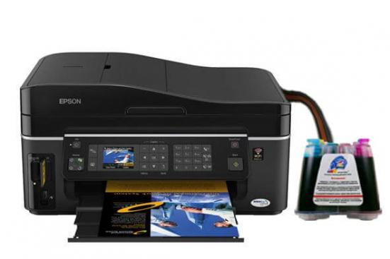 фото МФУ Epson Stylus Office SX620FW с СНПЧ