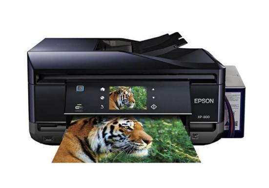 изображение МФУ Epson Expression Premium XP-800 Refurbished by Epson с СНПЧ и чернилами