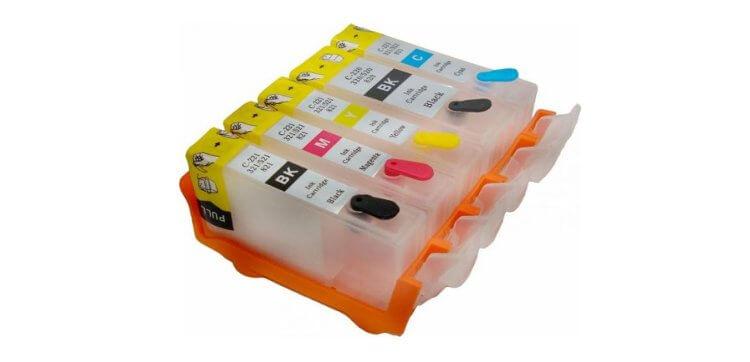 Перезаправляемые картриджи для HP PhotoSmart Premium Fax C410c фото