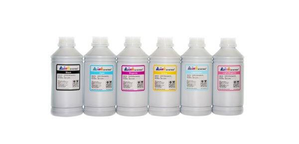 все цены на Комплект ультрахромных чернил INKSYSTEM для Epson 9000, 1л. (6 цветов) онлайн