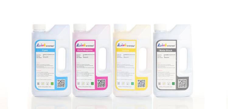 Комплект ультрахромных чернил INKSYSTEM для Epson 7400, 1л. (4 цвета)