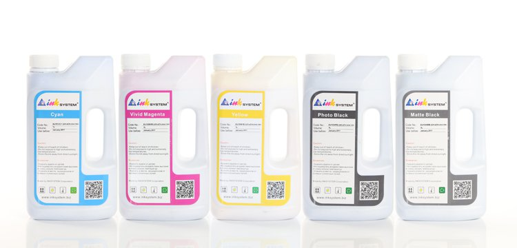 Комплект ультрахромных чернил INKSYSTEM для Epson 9910, 1л. (5 цветов) комплект ультрахромных чернил inksystem для epson 9910 1л 5 цветов