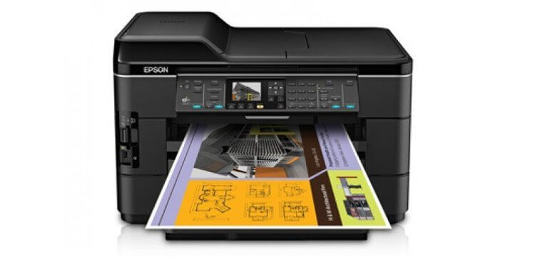 Epson WF-7520 Refurbished с СНПЧ