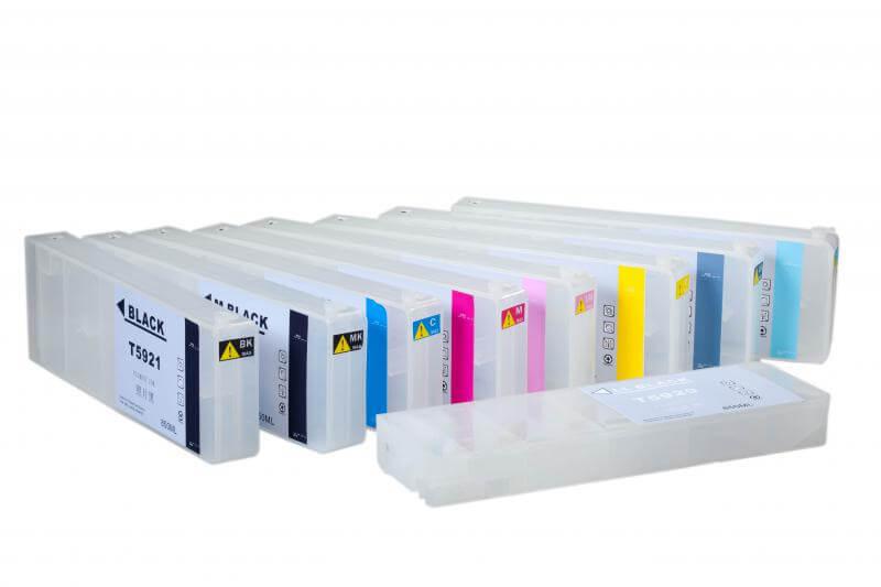 Перезаправляемые картриджи для Epson Stylus Pro 11880  цена и фото