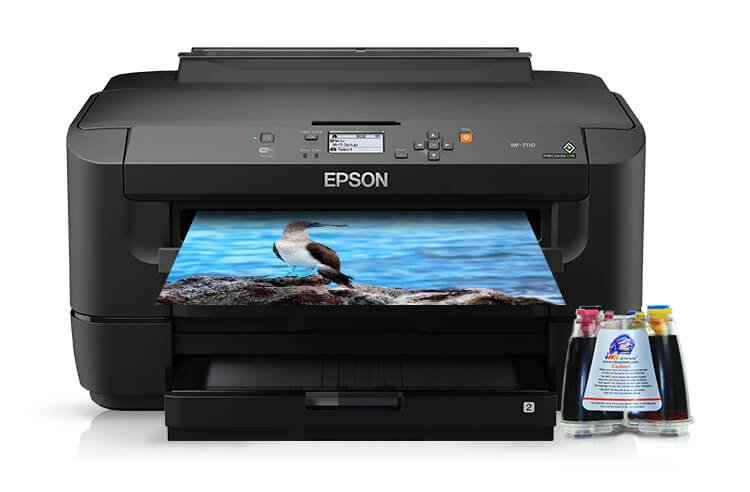 Принтер Epson Workforce WF-7110 с СНПЧ