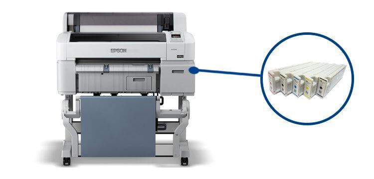 Плоттер Epson SureColor SC-T3200 с ПЗК от Inksystem