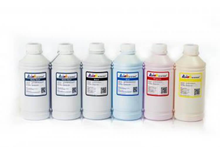 Пигментные чернила для HP Designjet T2300, 1000мл (комплект)Комплектация: 6 банок по 1000 мл, цвета: Cyan,Yellow, Magenta, Photo Black, Matte Black, Gray. Чернила INKSYSTEM обеспечивают точную цветопередачу, при этом качество отпечатков на 95-98% соответствует оригинальным чернилам.<br>