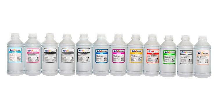Комплект пигментных чернил для Canon ipf8400, 1000мл (12 цветов)
