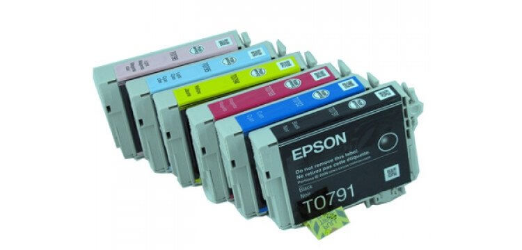 Комплект оригинальных картриджей для Epson Stylus Photo 1400 комплект оригинальных картриджей для epson stylus photo r295