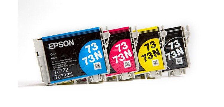 Комплект оригинальных картриджей для Epson Stylus TX300F фото