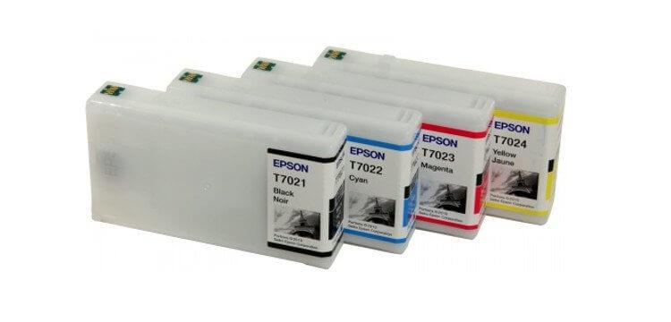 Комплект оригинальных картриджей для Epson WorkForce Pro WP-4595DNF комплект оригинальных картриджей для epson workforce pro wp 4015dn