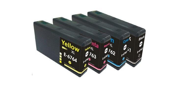 Комплект оригинальных картриджей для Epson WorkForce Pro WP-4020 комплект оригинальных картриджей для epson workforce pro wp 4015dn