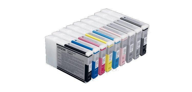 Комплект оригинальных картриджей для Epson Stylus Pro 4800 фото