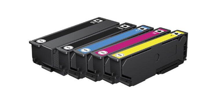 где купить Комплект оригинальных картриджей для Epson Expression Premium XP-605 по лучшей цене