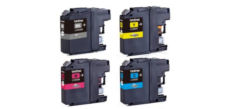 Комплект оригинальных картриджей для Brother MFC J3720 картридж brother lc565xlm magenta для mfc j2510 mfc j2310 mfc j3720 mfc j3520