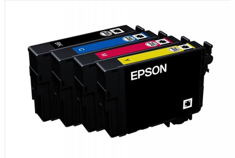 Комплект оригинальных картриджей для Epson Expression Home XP-415 комплект оригинальных картриджей для epson expression home xp 406
