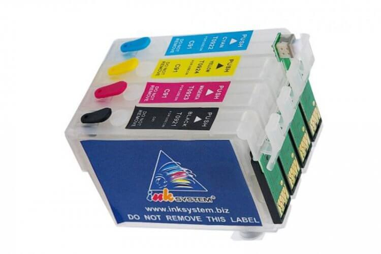 Перезаправляемые картриджи для Epson Workforce WF-3620DWF фото