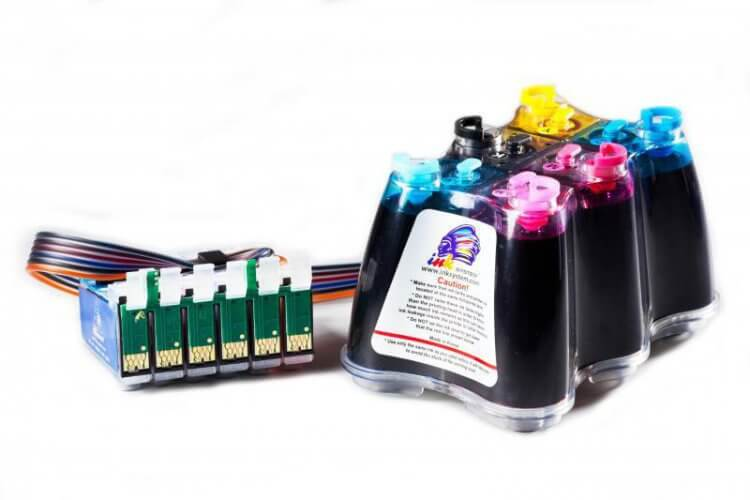 СНПЧ Epson Colorio EP-775A цена и фото