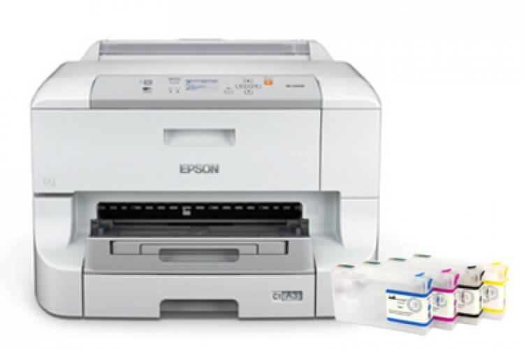 фото Принтер Epson WorkForce Pro WP-4123 с ПЗК