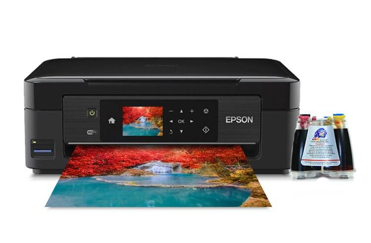 фото МФУ Epson Expression Home XP-423 с СНПЧ