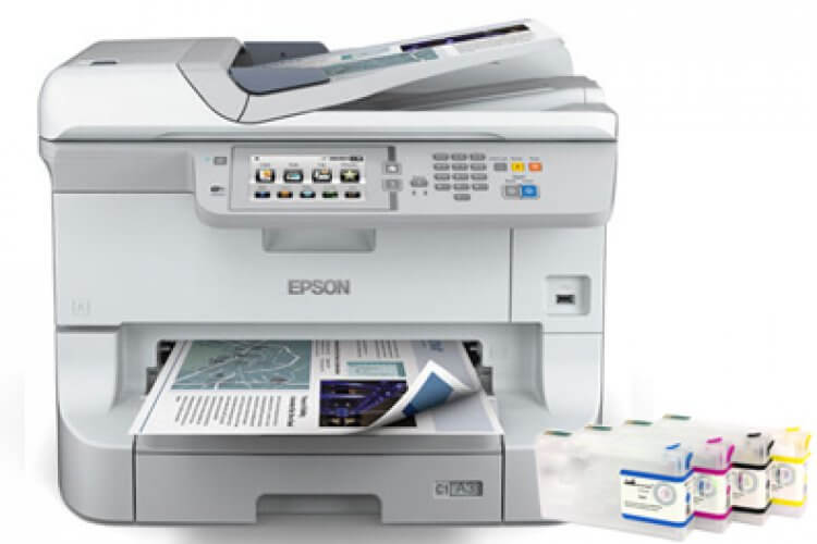 фото МФУ Epson WorkForce Pro WF-8590DWF с ПЗК