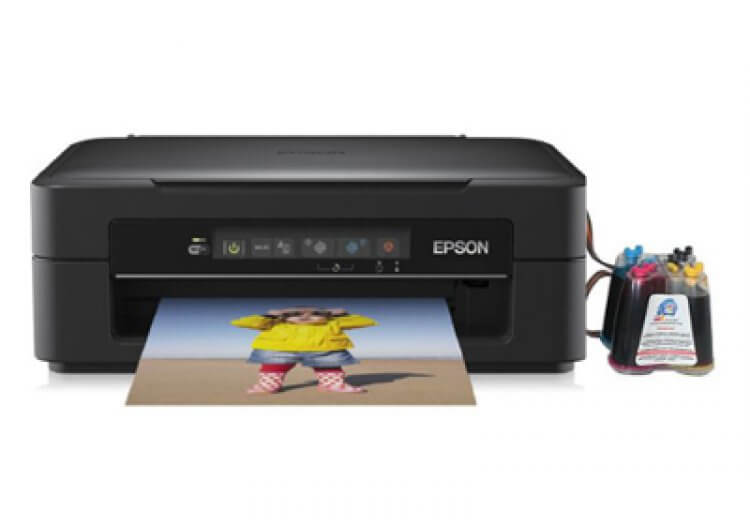 фото МФУ Epson Expression Home XP-215 с СНПЧ