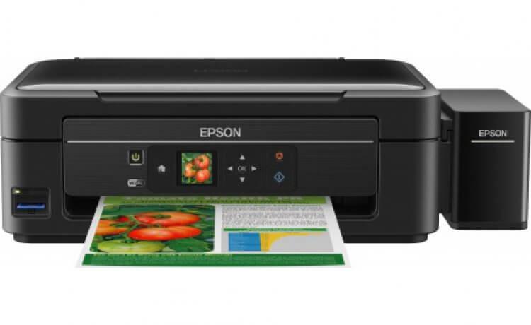 МФУ Epson L456 с оригинальной СНПЧ от Inksystem