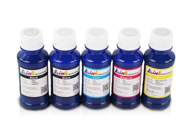 Чернила INKSYSTEM для фотопечати на Canon 100 мл (5 цветов) фото