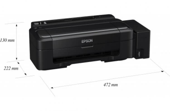 Epson L132 с чернилами INKSYSTEM
